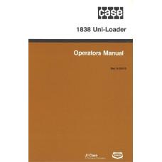 Case 1838 Uniloader Operator's Manual (925010)
