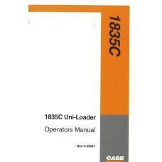 Case 1835C Uniloader Operator's Manual (925041)