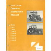 Zetor Z12245 Tractor Operator's Manual (8211)