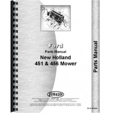 New Holland 451 Sickle Bar Mower Parts Manual