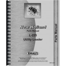New Holland L225 Skid Steer Parts Manual