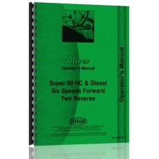 Cockshutt Super 99 Tractor Operators Manual (6-cyl)