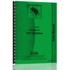 Oliver 1650 Backhoe Attachment Parts Manual (Attachment)