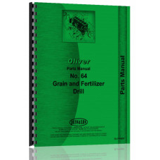 Oliver 64 Grain Drill Parts Manual (64)