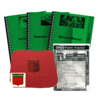 Oliver 550 Deluxe Tractor Manual Kit