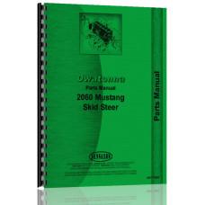 Owatonna 2060 Skid Steer Loader Parts Manual