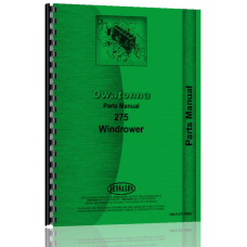 Owatonna 275 Windrower Parts Manual