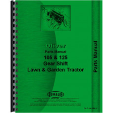 Oliver 105 Lawn & Garden Tractor Parts Manual