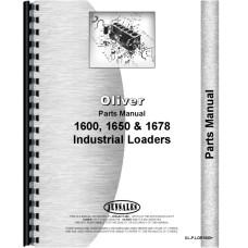Oliver 1650 Loader Attachment Parts Manual