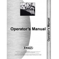 International Harvester TD20 Crawler Bulldozer Attachment Operators Manual