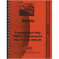 Deutz Allis DX6.50 and 7120 TW911 Transmission Service Manual