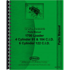 Owatonna 1700 Skid Steer Loader Parts Manual