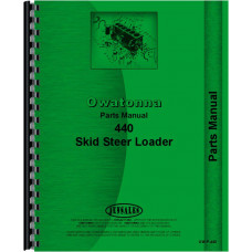 Owatonna 440 Skid Steer Loader Parts Manual