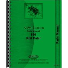 Owatonna 596 Roll Baler Parts Manual