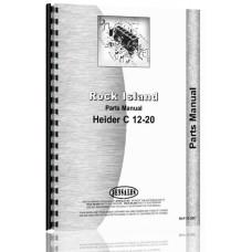 Rock Island 12-20C Tractor Parts Manual (1923)