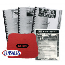 Satoh S-650G Deluxe Tractor Manual Kit