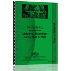 Simplicity 7000 Lawn & Garden Tractor Service Manual