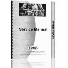 Deutz (Allis) 6200 Power Steering Service Manual