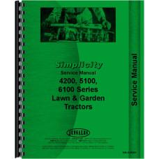 Simplicity 4200 Lawn & Garden Tractor Service Manual