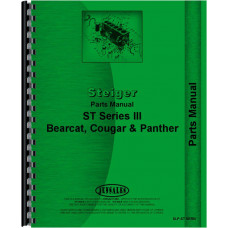 Steiger Cougar III Tractor Parts Manual (ST Series)