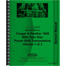 Steiger Panther CP-1325, CP-1360, CP-1400, KP-1325, KP-1360, KP-1400 Tractor Service Manual