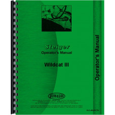 Steiger Wildcat III Tractor Operators Manual