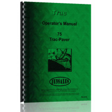 Trac-Paver 75 Industrial Tractor Operators Manual