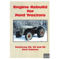 Ford 9N, 2N, 8N Engine Rebuild DVD (FO-DVD-2,8,9NE)