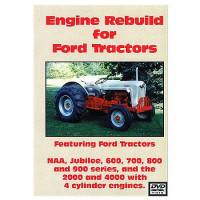 Ford Jubilee, 600 - 900 Series Engine Rebuild DVD (FO-DVD-600ENG)