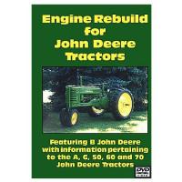 John Deere A, B, G, 50, 60 and 70 Engine Rebuild DVD (JD-DVD-A,B,50E)