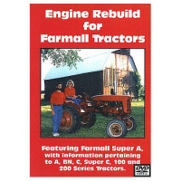 Farmall A, C, Super A and C, 100, 200 Series Engine Rebuild DVD (IH-DVD-A,CENG)
