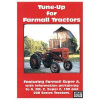 Farmall A, C, Super A and C, 100, 200 Series Tune-Up DVD (IH-DVD-A,CTUN)
