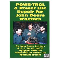 John Deere A, B, G, 50, 60 and 70 Power-Trol and Power Lift Repair DVD (JD-DVD-PWRTRO)