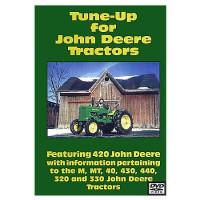 John Deere M, MT, 40, 320, 330, 420, 430 and 440 Tune-UP DVD (JD-DVD-420TUN)