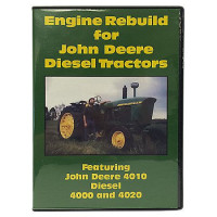 John Deere 4000, 4010, 4020 Diesel Engine Rebuild DVD (JD-DVD-4000ENG)