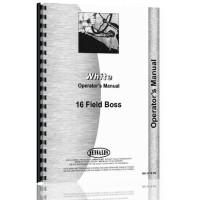 White 16 Field Boss Tractor Operators Manual