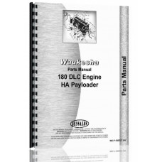 Hough HA Pay Loader Waukesha Engine Parts Manual (SN# 3BA1257 and Up)