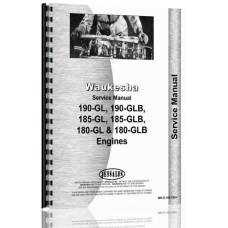 Hough H-25B Pay Loader Waukesha Engine Service Manual