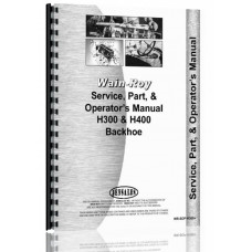 Wain-Roy Backhoe Attachment Service Manual (WR-SOP-H300+)