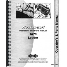 Westendorf TA-29 Loader Attachment Operators & Parts Manual