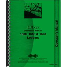 Oliver 1650 Loader Attachment Operators Manual