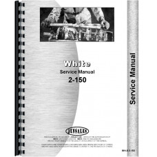 White 2-150 Tractor Service Manual