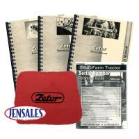Zetor 7745 Deluxe Tractor Manual Kit