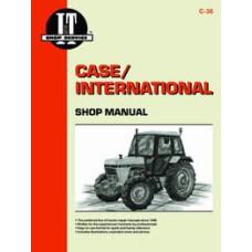Case 2594 Tractor Service Manual (IT Shop)