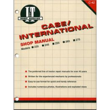 Case-IH 235 Tractor Service Manual (IT Shop)