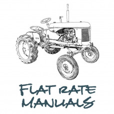 Ford Tractor Flat Rate Manual (Flat Rate)