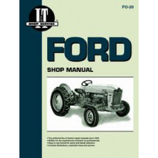Ford 681 Tractor Service Manual (IT Shop)