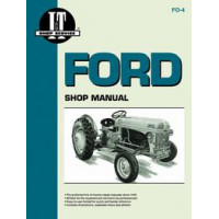 Ford 9N Tractor Service Manual (IT Shop)