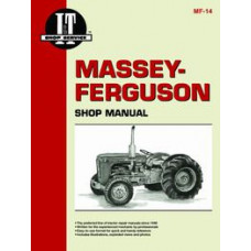 Massey Harris 50 Tractor Service Manual (IT Shop)