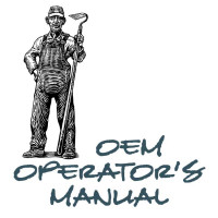New Holland TC25D Tractor Operators Manual